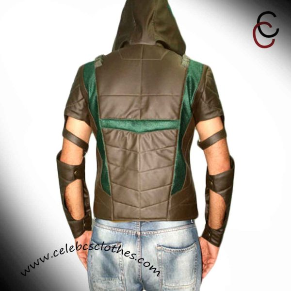 Green arrow jacket hoodie
