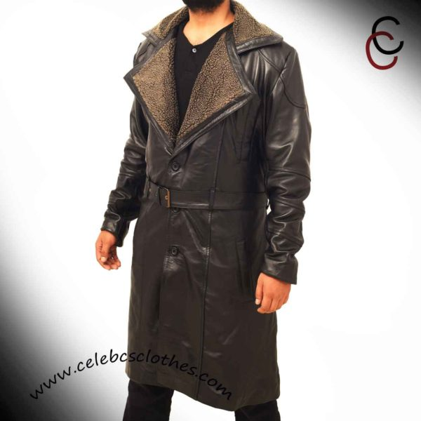 Shearling blade runner coat