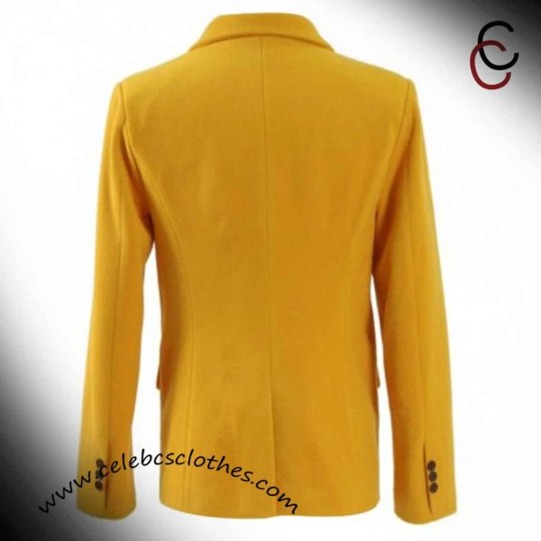 Yellow Spiderman Homecoming jacket