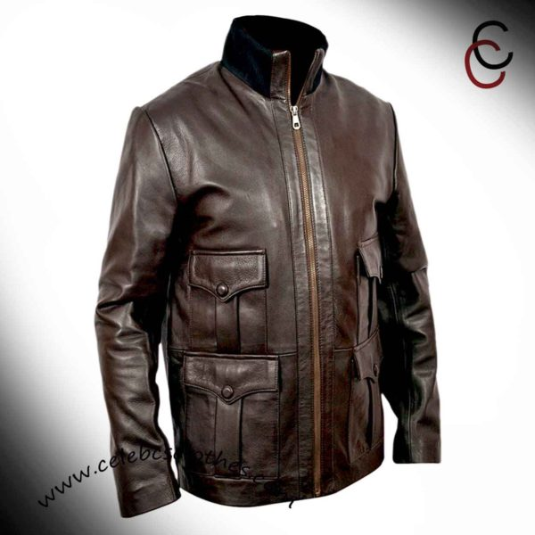 bond leather jacket casino royale