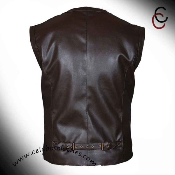 brown leather vest jurassic world