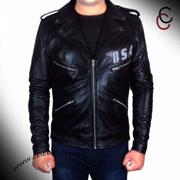 bsa leather motorcycle jacket