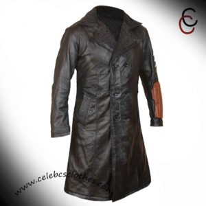 captain boomerang trench coat