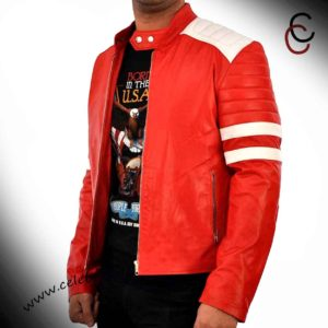 fight club leather jacket replica