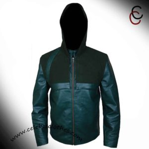 green arrow stephen amell jacket
