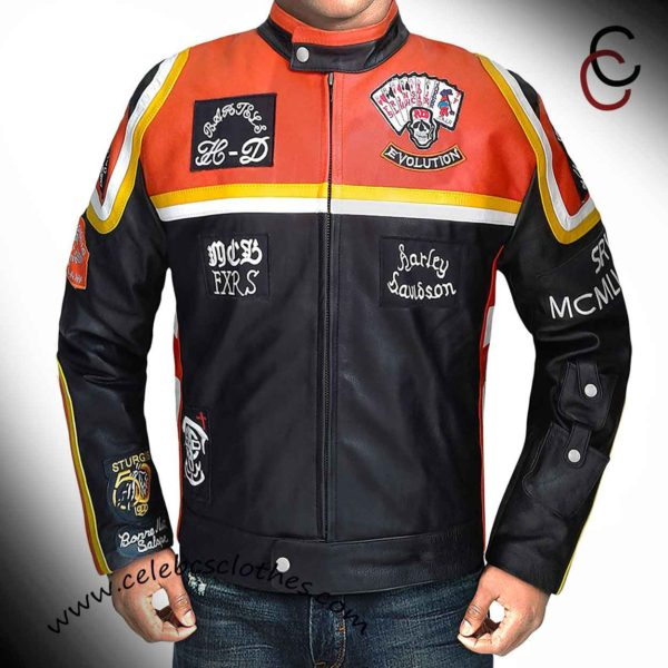 harley davidson and the marlboro biker jacket