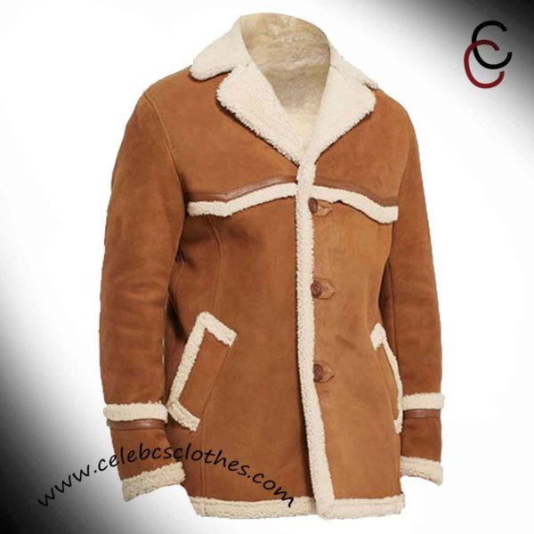 kingsman shearling coat