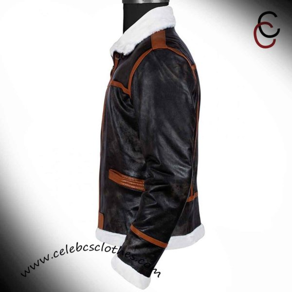 leon resident evil 4 leather jacket