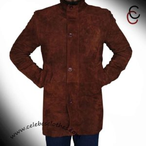 longmire cowhide leather coat jacket