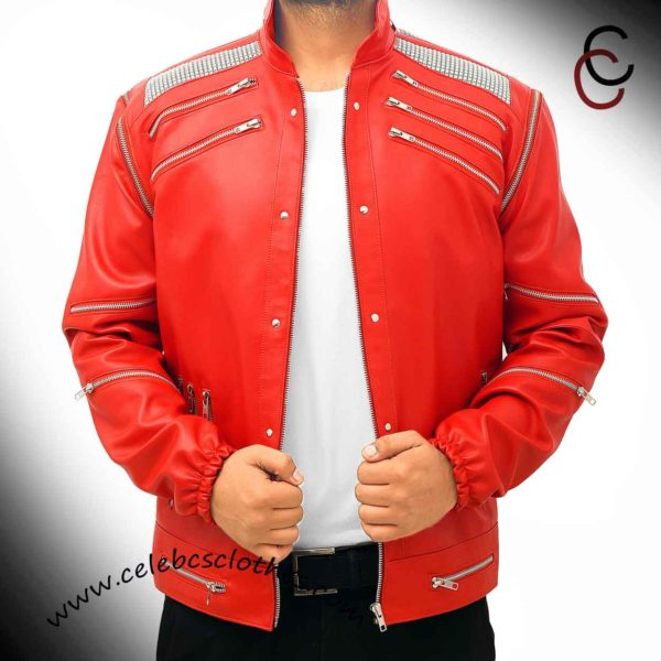 michael jackson red jacket beat it