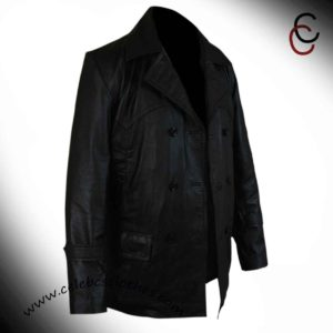 ninth doctor leather jacekt