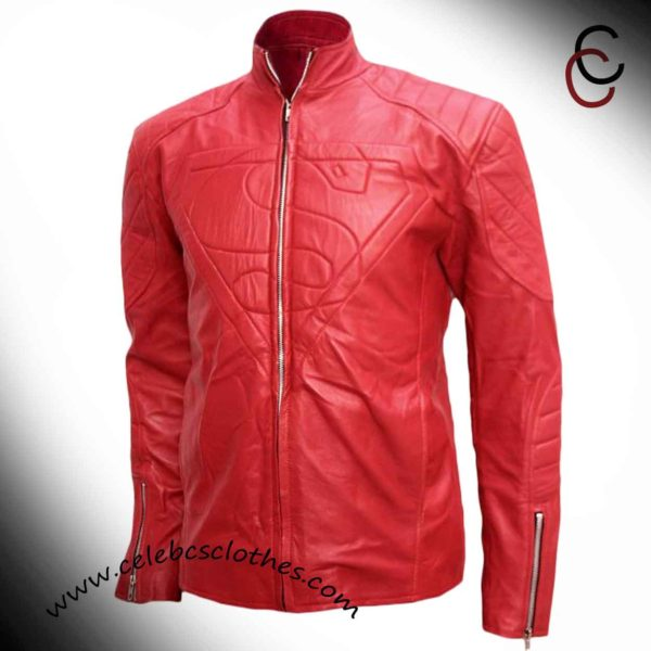 smallville clark kent red jacket