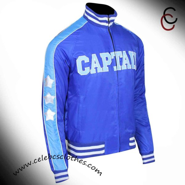 suicdie squad captain Bomerang blue jacket