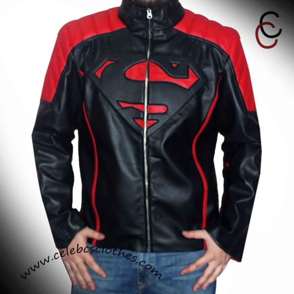 superman motorcycle jacket