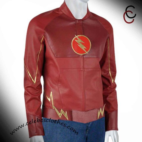 the flash jacket superhero