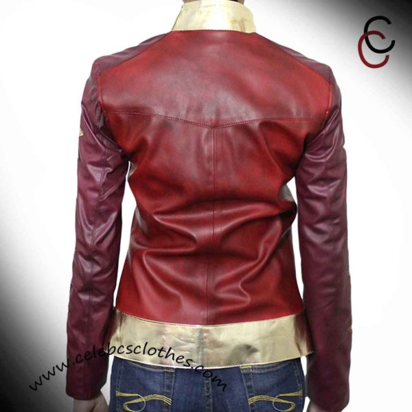 wonder woman motorcycle jacket