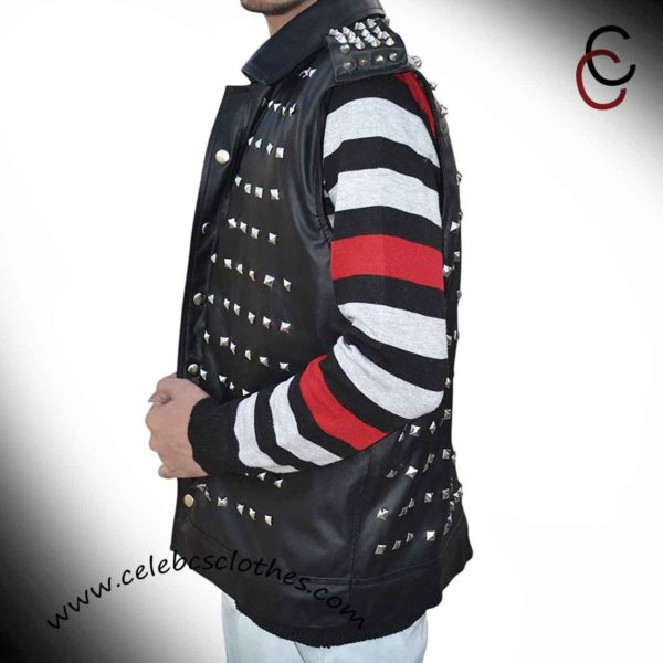 Wrench leather vest