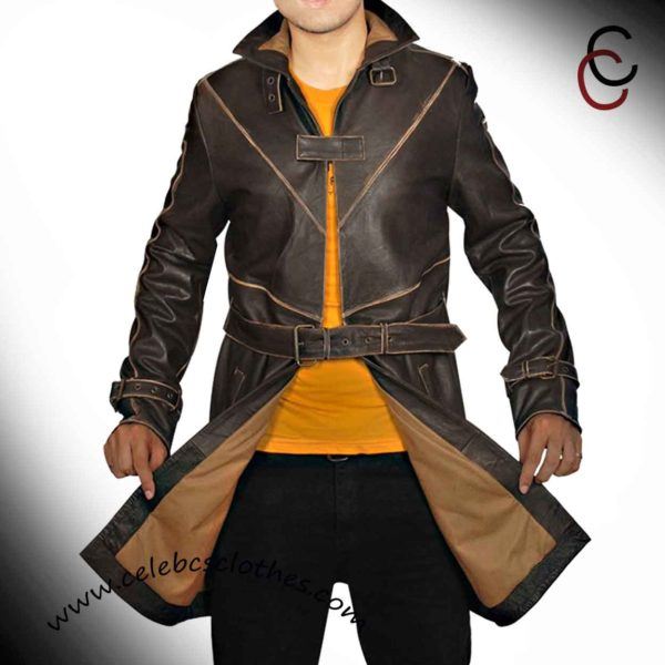 watch dogs trench coat