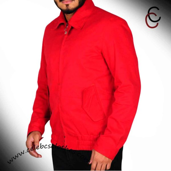 james dean red jacket replica