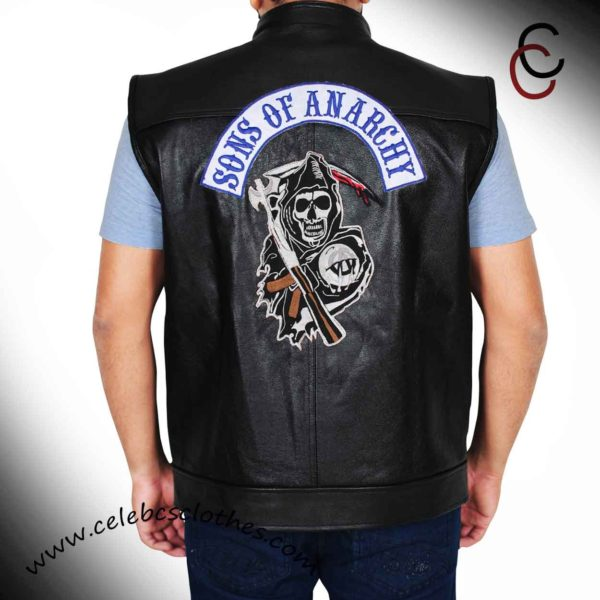 jax teller leather vest