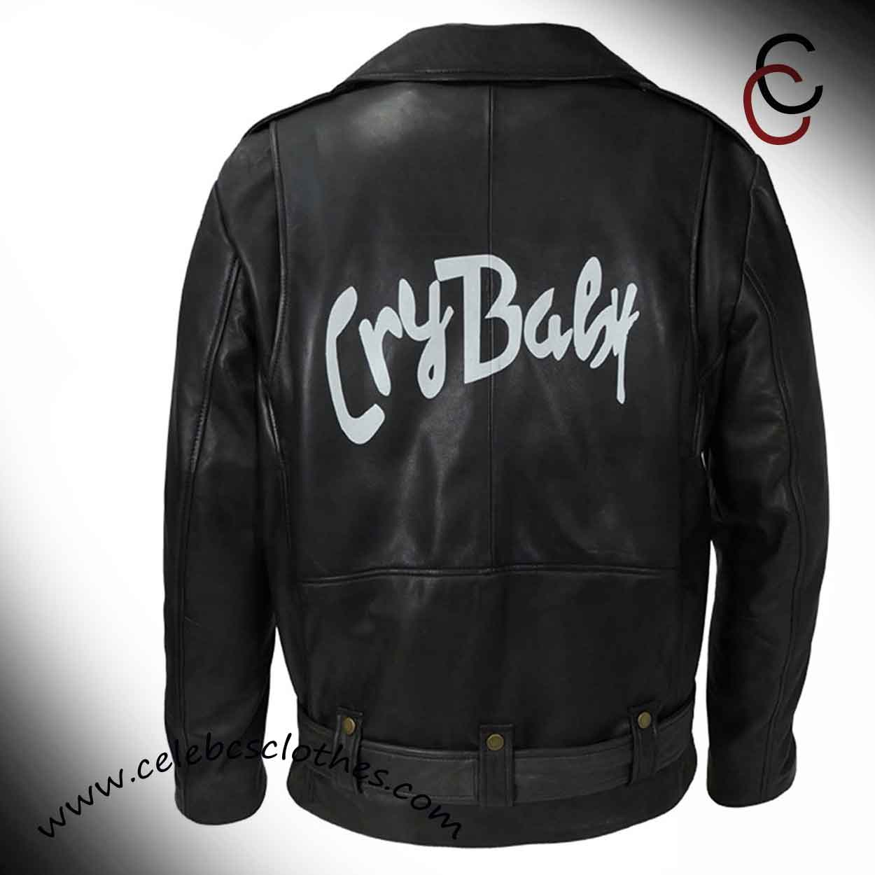 024319001 Cry Baby Jacket | Johnny Depp Motorcycle Cry Baby Leather Jacket ...