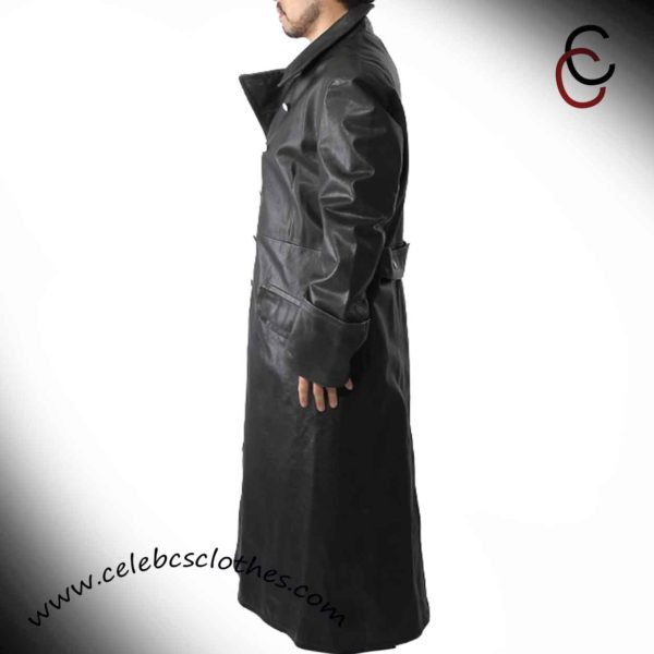 nazi officer leather coat replica