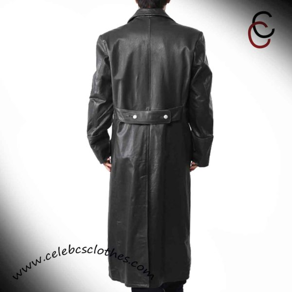 nazi officer trench coat