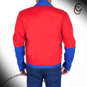 red baywatch bomber jacke