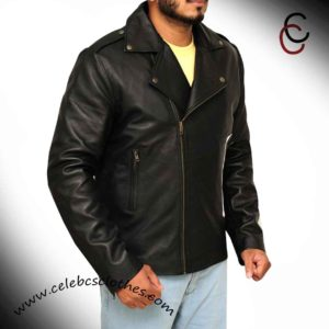 t bird leather jacket