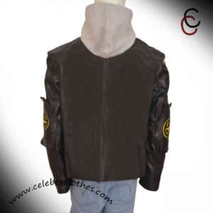 the division black leather jacket