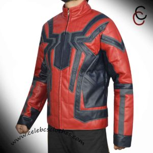 tom holland spiderman jacket