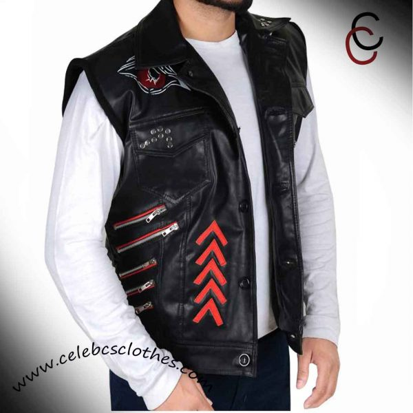 Thomas Pestock Leather Vest
