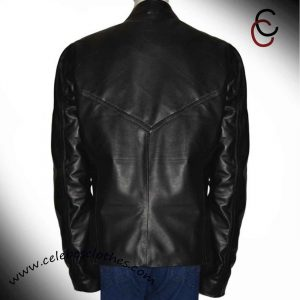 black widow leather jacket