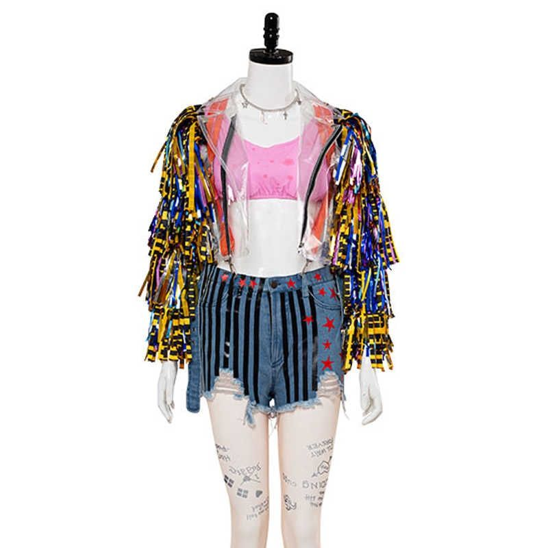 Birds Of Prey Harley Quinn Wings Jacket Celebs Clothes