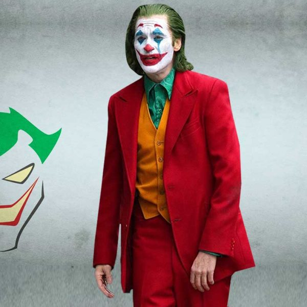 Joker Joaquin Phoenix Red Suit