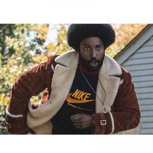 Ron Stallworth BlackKklansman Shearling Jacket