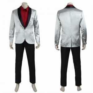 Jared Leto Suicide Squad Joker Grey Coat