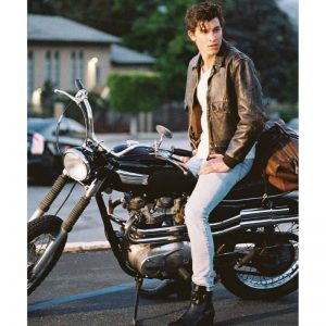 Shawn Mendes Senorita Leather Jacket