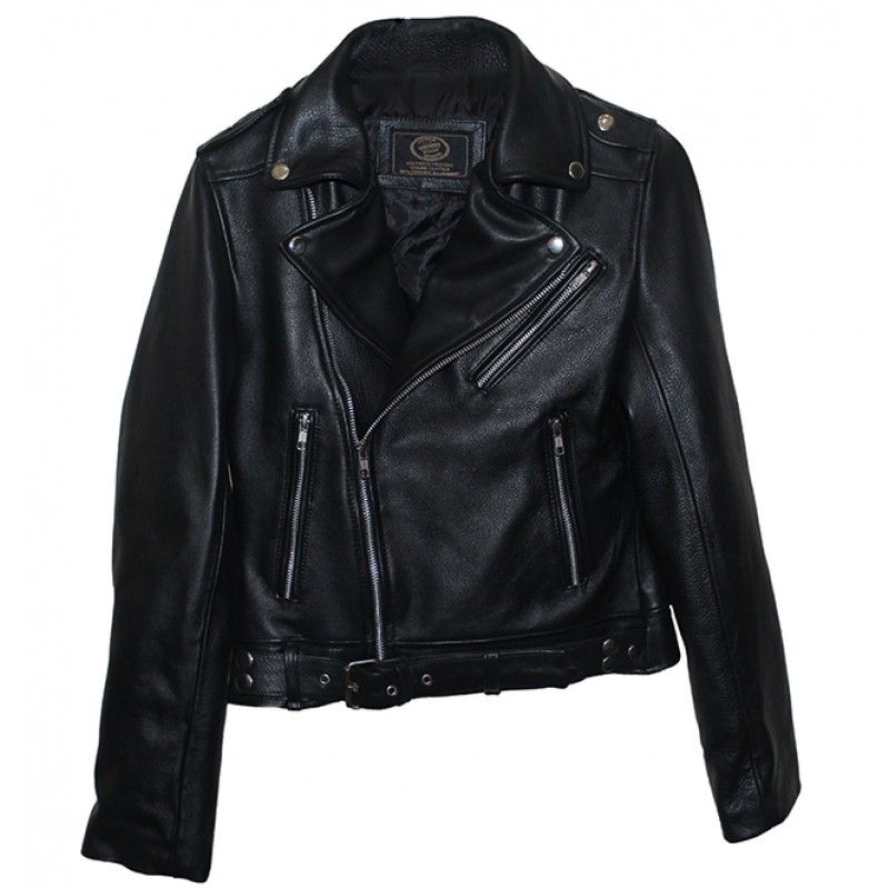 Kim Kardashian Biker Leather Jacket