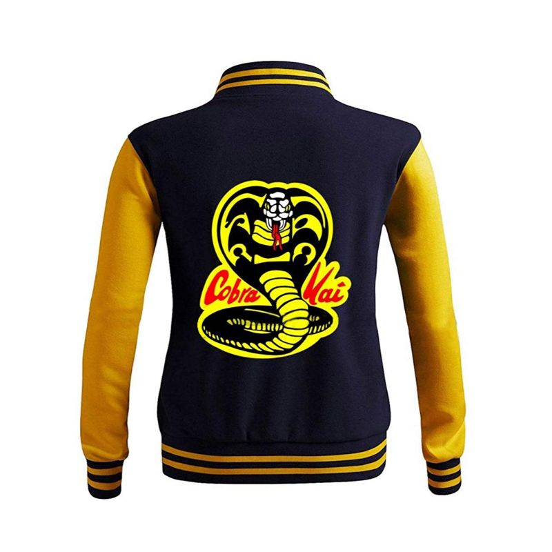 Moletom Karate Kid College Cobra Kai Varsity Jacket