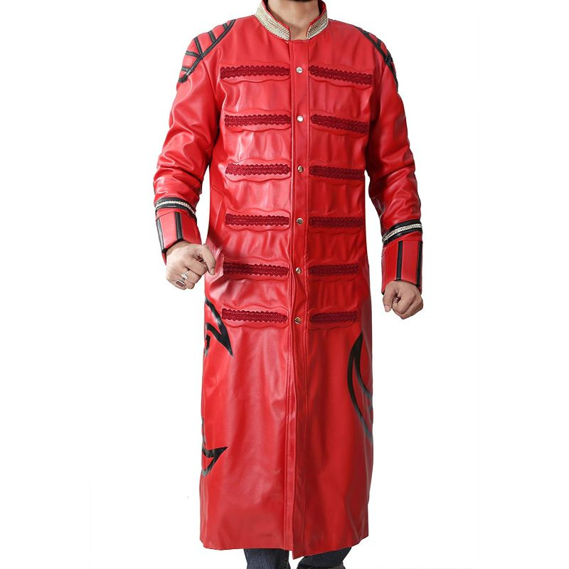 WWE Wrestler Sting Steve Borden Trench Coat
