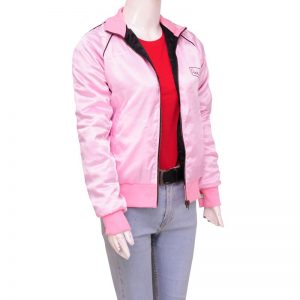 Grease 2 Michelle Pfeiffer Pink Ladies Satin Jacket