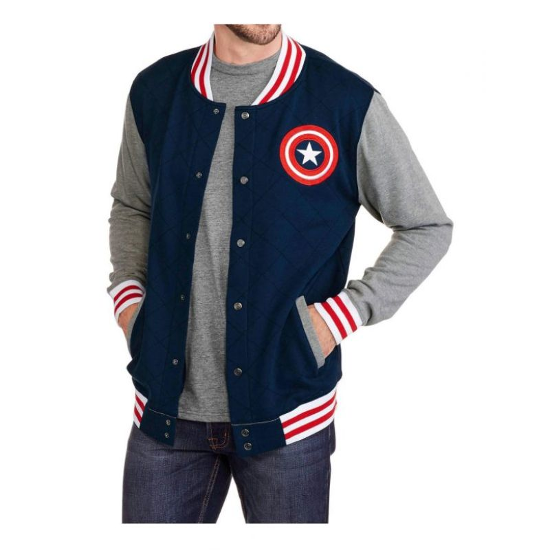 Captain America Varsity Jacket