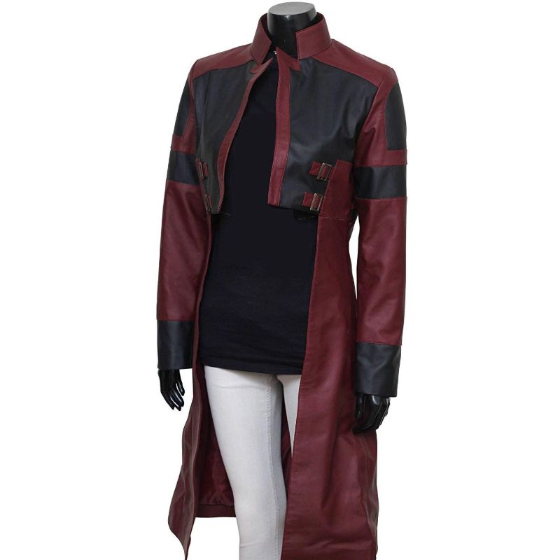 Guardians of the Galaxy Gamora Coat