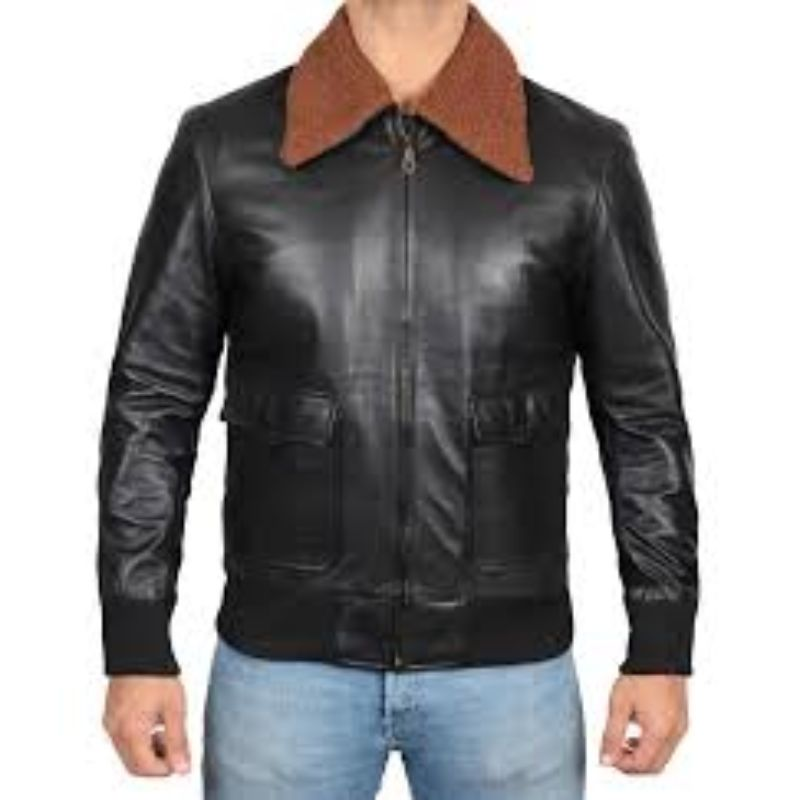 Elon Musk Winter Shearling Leather Jacket