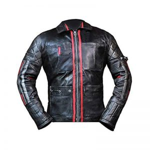 Alita Battle Angel Hugo Biker Jacket