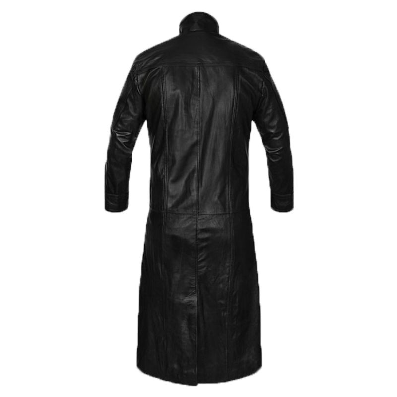 The Avengers Nick Fury Leather Trench Coat