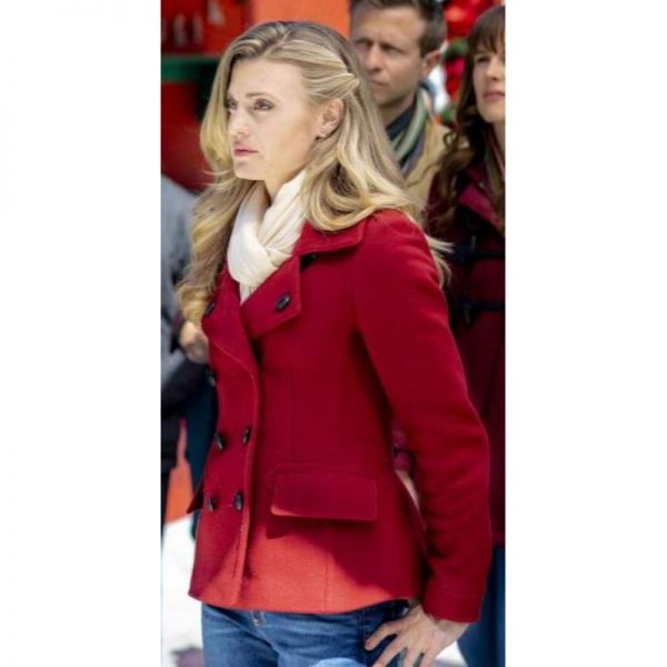 Christmas in Love Brooke D'Orsay Red Coat