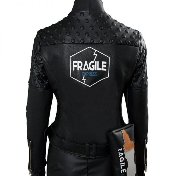 Death Stranding Fragile Express Leather Jacket