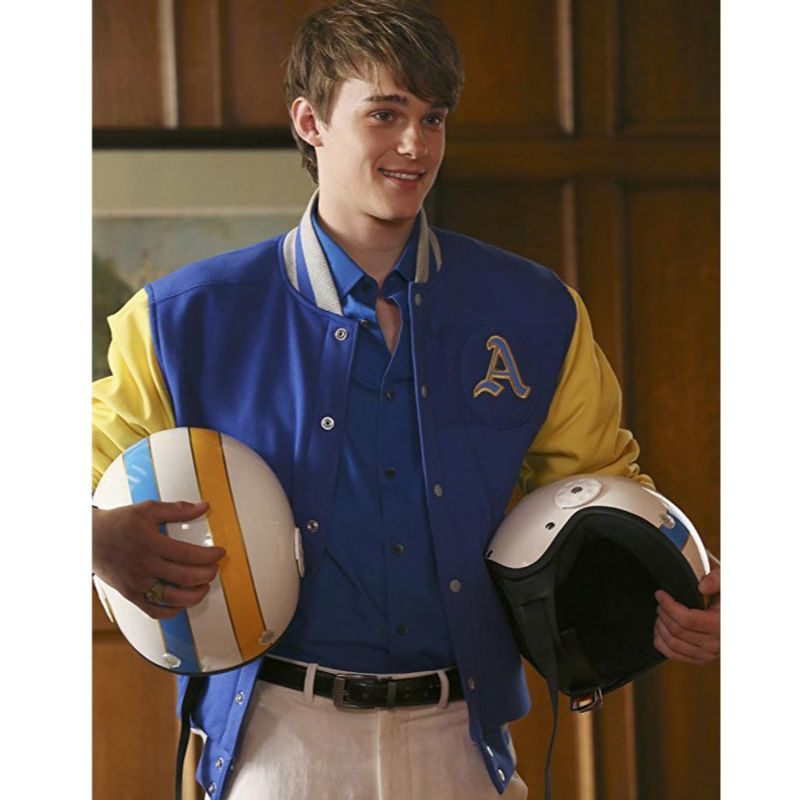 Mitchell Hope Descendants Letterman Jacket